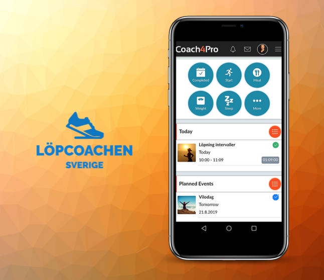 Löpcoachen Sverige the next company to take Coach4Pro into use