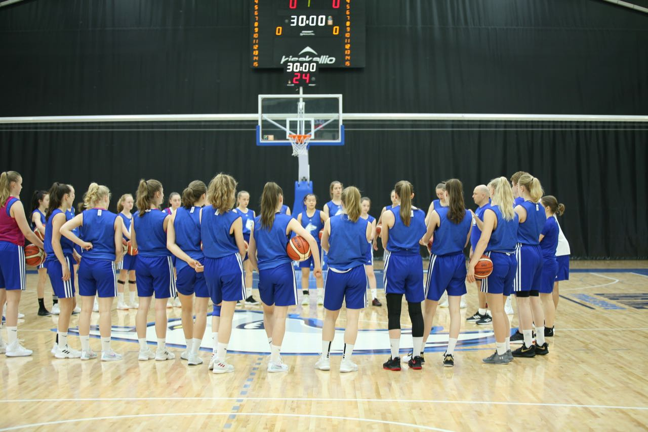 Cooperation with Finland's WU16 EM 2020 basketball team